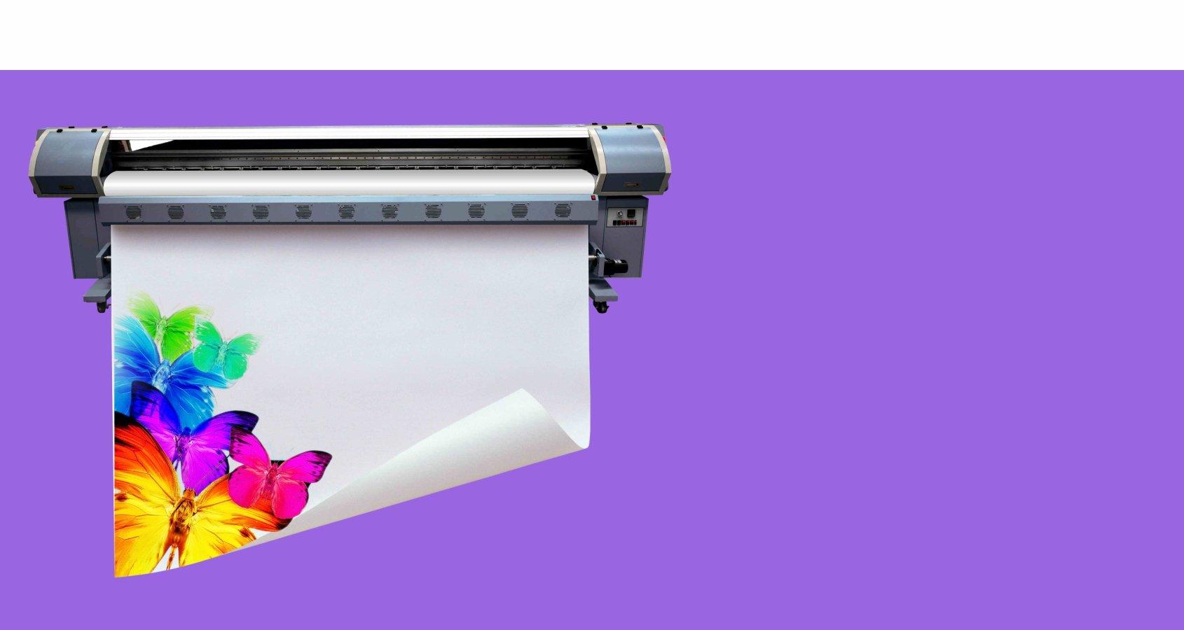 Широкоформатная печать<br> за 150 рублей